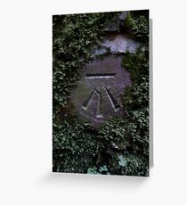 Awen symbol Greeting Card