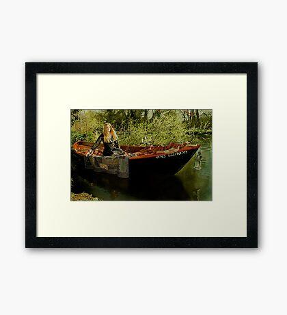 Lady of Shalott Framed Print