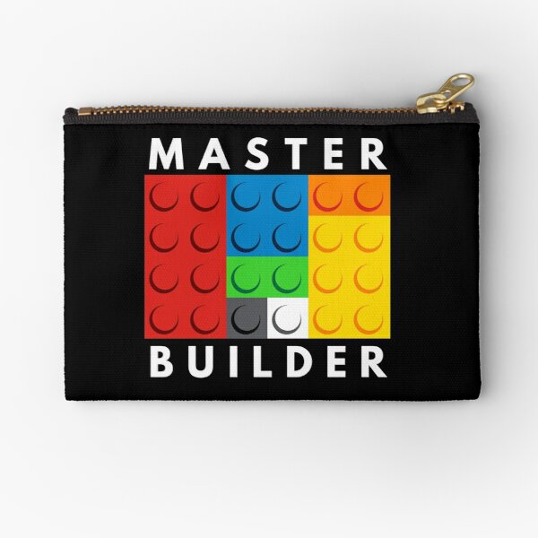 Master Builder Zipper Pouch