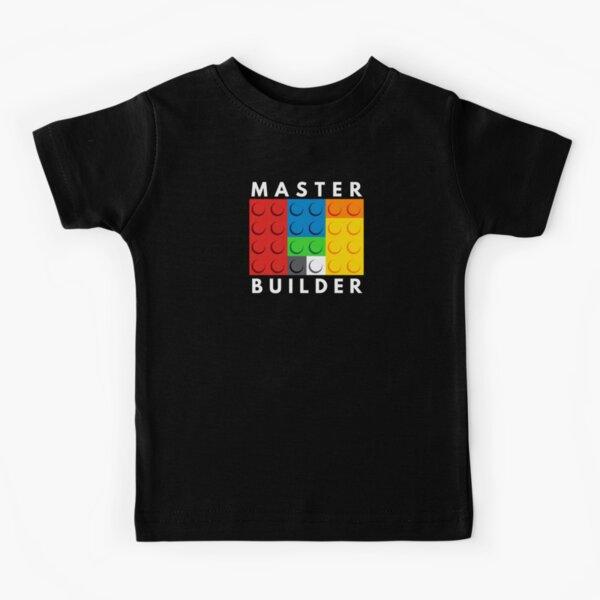 Master Builder Kids T-Shirt
