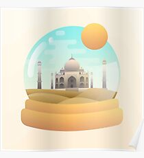 Sand Globe Poster