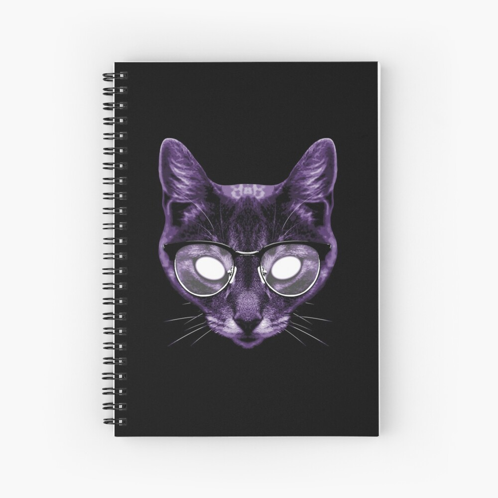 The God of Knowledge Spiral Notebook