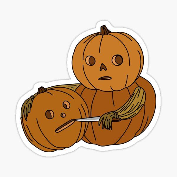 Pumpkin Heads  Sticker