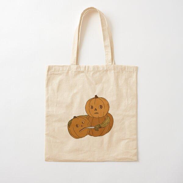 Pumpkin Heads  Cotton Tote Bag