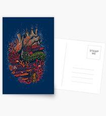 Herz des Meeres Postkarten