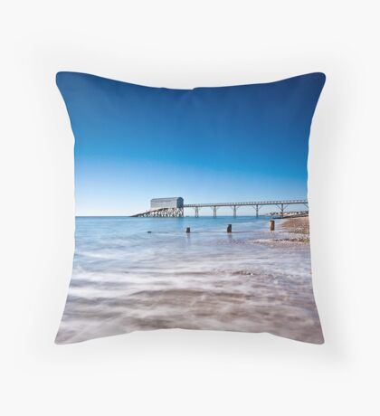 Selsey Lifeboat Station Throw Pillow
