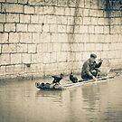 Guilin Fisherman by Tom Vaughan