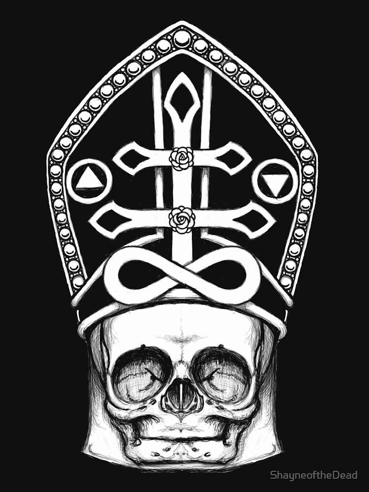 Fetal Skull Anti-Pope by ShayneoftheDead