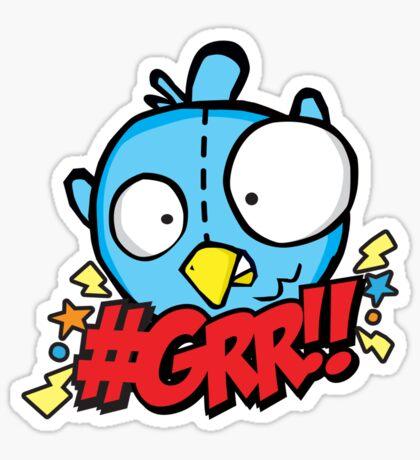 Angry Tweet Sticker