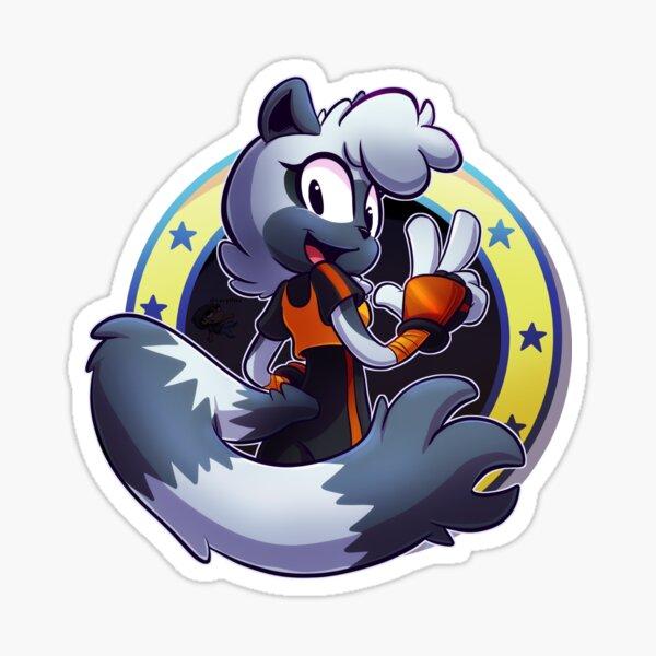 Tangle the Lemur Sticker