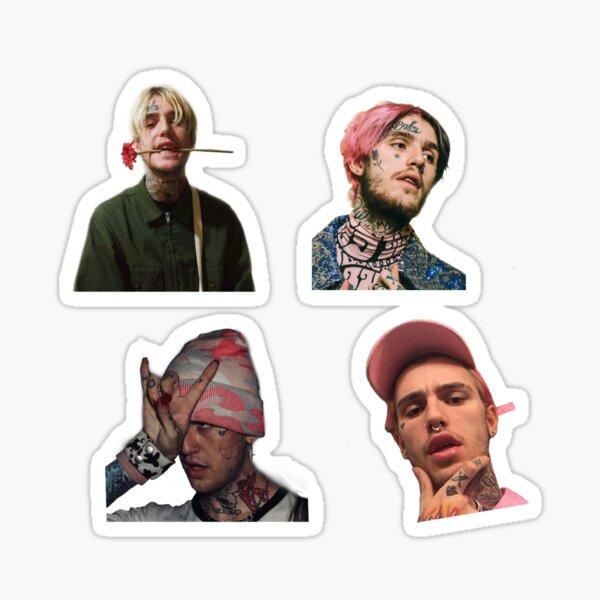 Lil Peep Sticker Pack Sticker