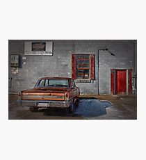 The Garage Photographic Print