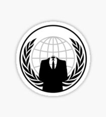 The Anonymous Shirt Sticker