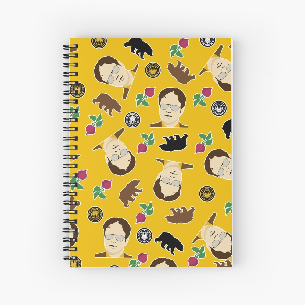 Dwight's Favorite Things Spiral Notebook