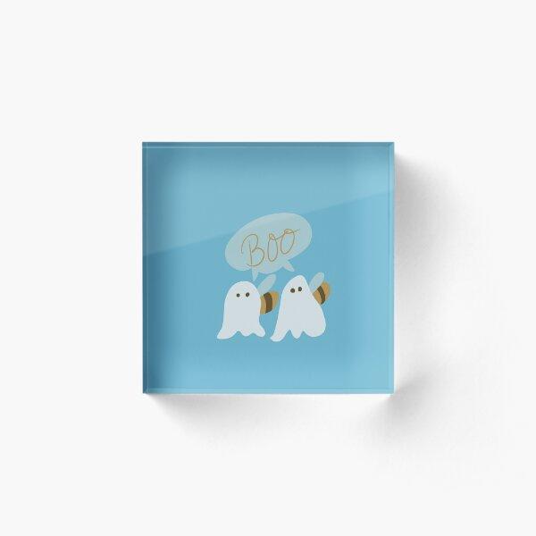 A pair of boos Acrylic Block