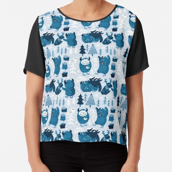 Bigfoot creatures Chiffon Top