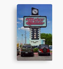 Route 66 - Metro Diner Canvas Print