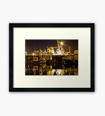 killybegs at night Framed Print