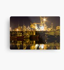 killybegs at night Metal Print