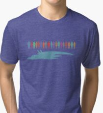 Normandy and the squad Tri-blend T-Shirt