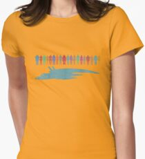 Normandy and the squad Womens Fitted T-Shirt