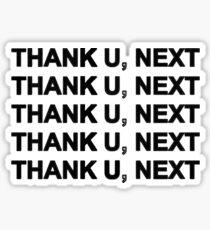 THANK U, NEXT Sticker