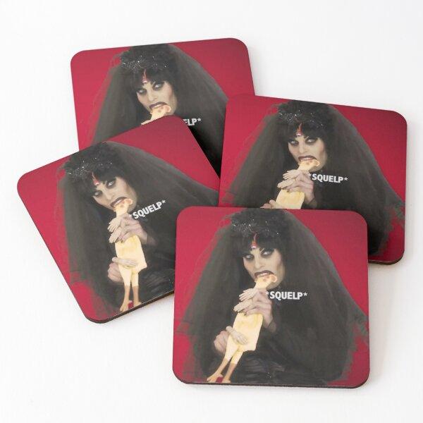 Katya Rubber Chicken Coasters (Set of 4)