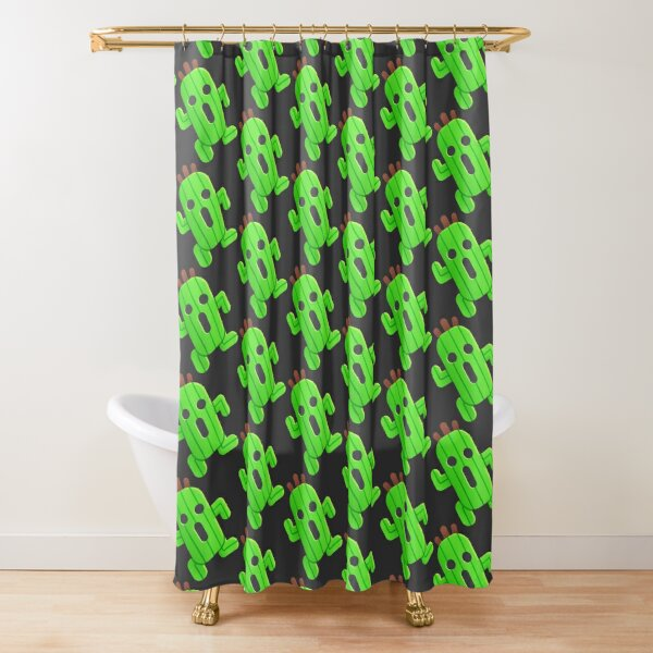 Lil' Cactuar Shower Curtain