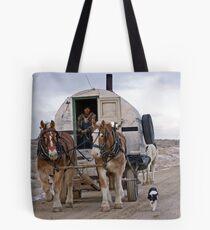 Sheep Wagon, Wyoming Tote Bag
