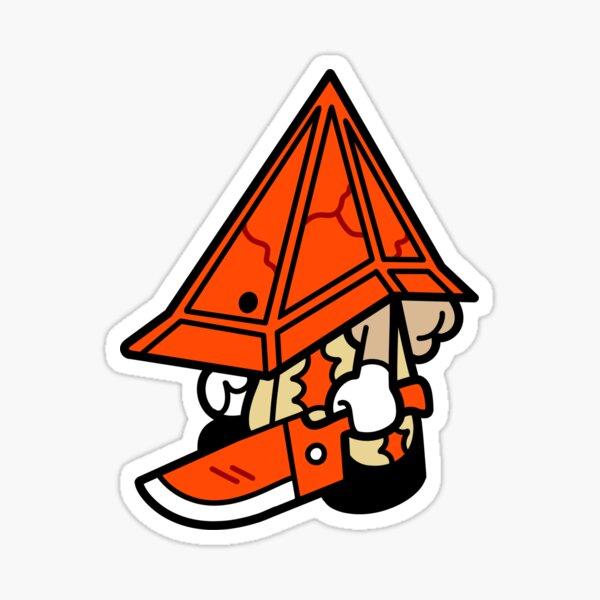 Lil' Pyramid Head Sticker