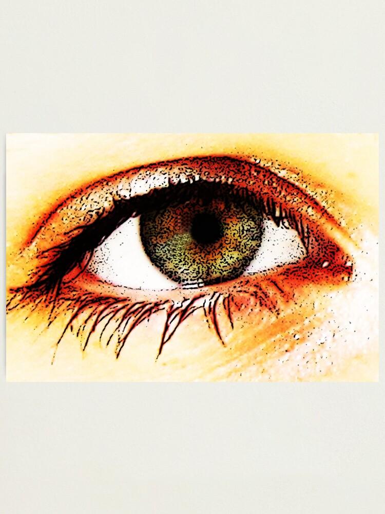Alternate view of Eye Photographic Print