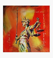 Lady Justice 0120 Photographic Print
