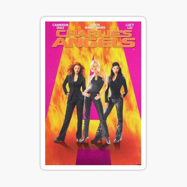 Charlie's Angels Poster Sticker