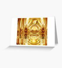Throneroom Glory: Golden Splendor Greeting Card