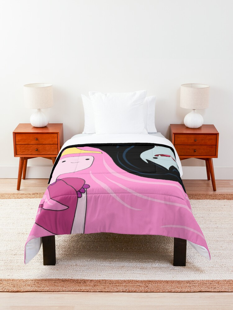 Alternate view of Princess Bubblegum and Marceline Comforter