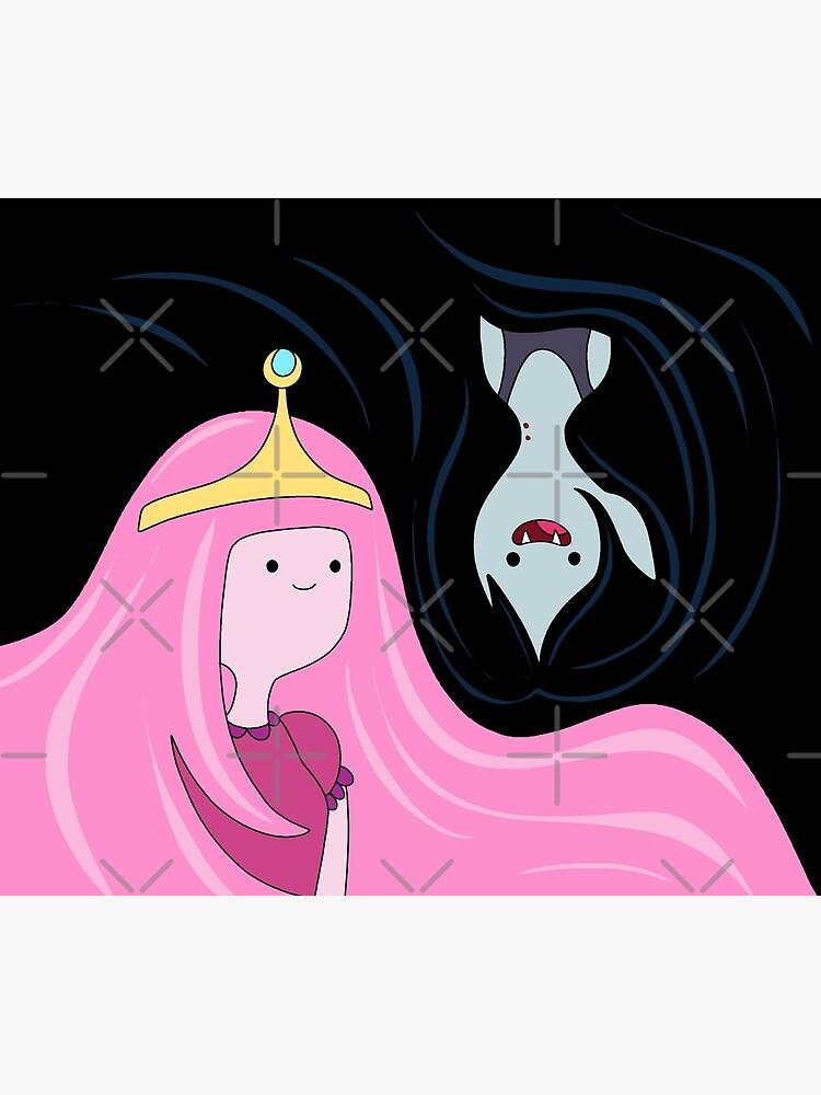 Princess Bubblegum and Marceline by ValentinaHramov