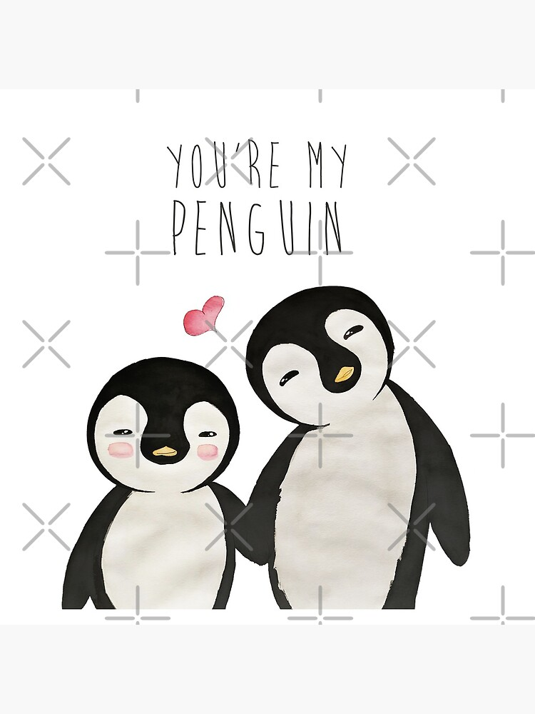 You're my Penguin | When Penguins are in Love by mydoodlesateme