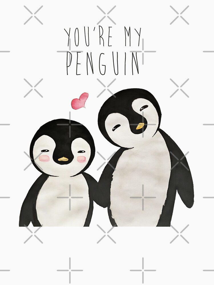 You're my Penguin   When Penguins are in Love by mydoodlesateme