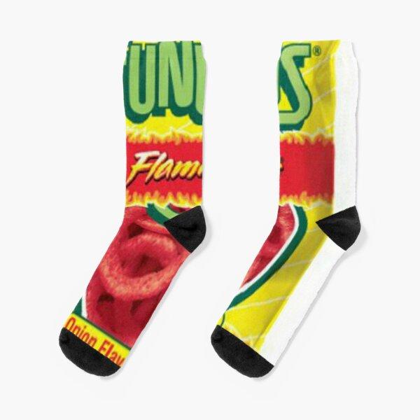 FUNYUNS Flaming Hot Socks