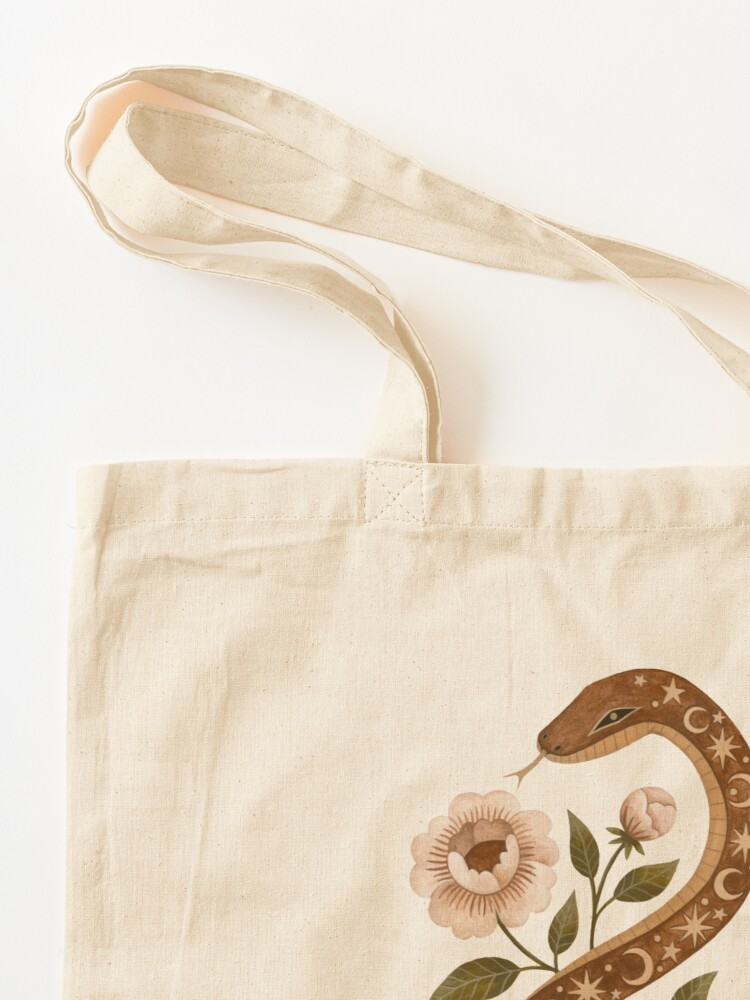 Alternate view of Serpent spells Tote Bag