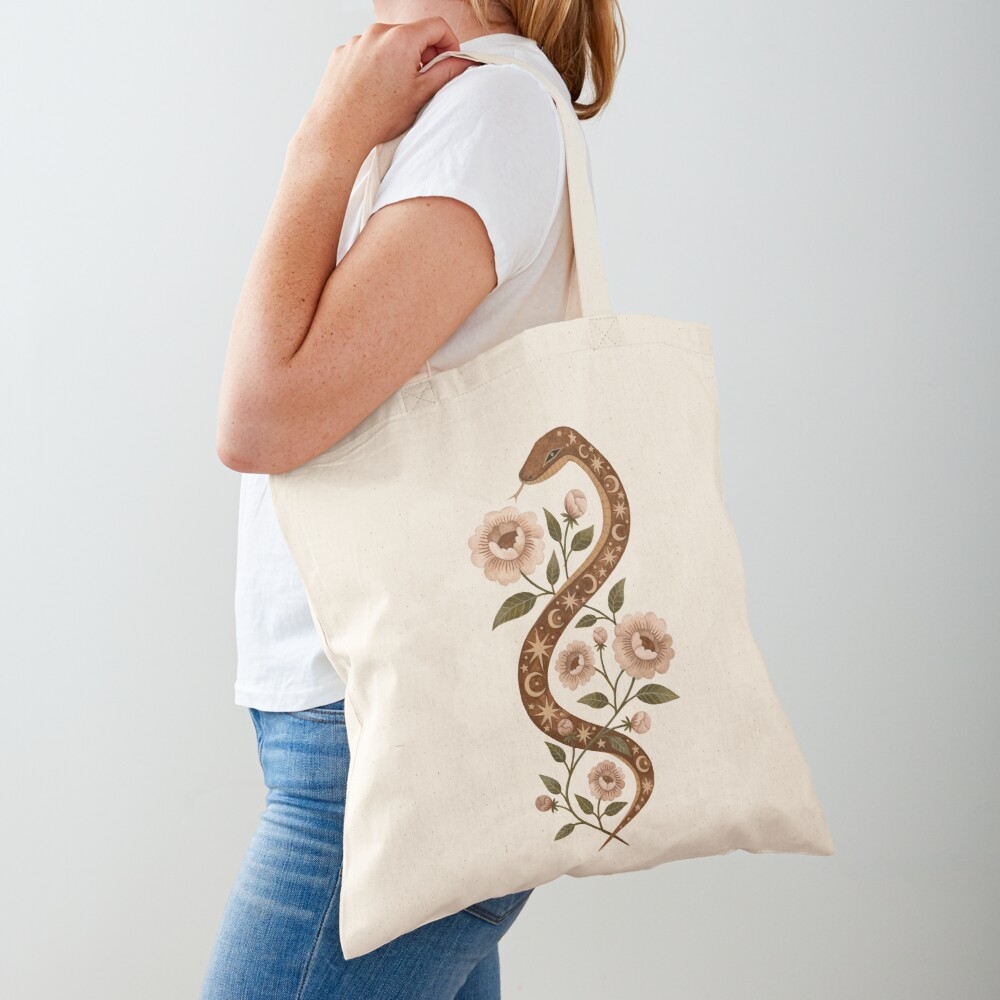 Serpent spells Tote Bag