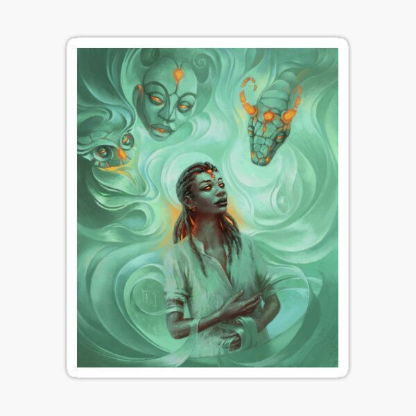 Awaken the Spirits Sticker