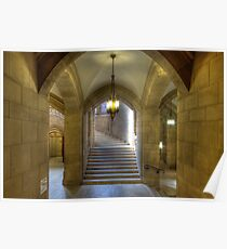 Grand Staircase to Suzzallo Reading Room Poster