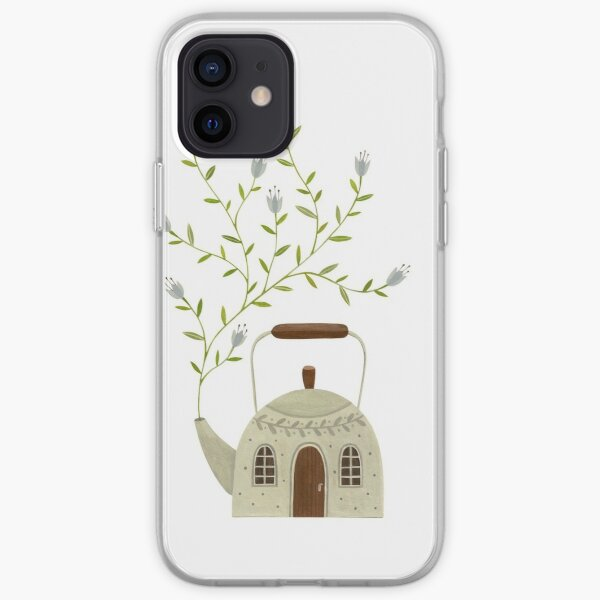 Blooming kettle house iPhone Soft Case