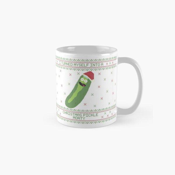 I'm a Christmas pickle Morty!!! (Rick & Morty) Classic Mug
