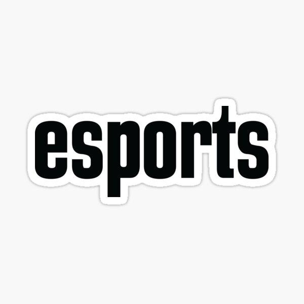 Esports E-Sports E Sports Electronic Sports Sticker