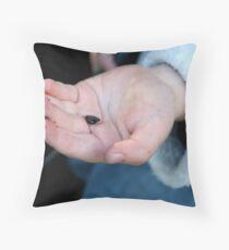 Worm Survey Throw Pillow