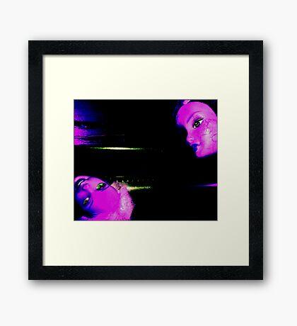 03-24-11:  Dollhead Ovenknob Framed Print