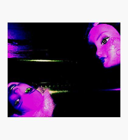 03-24-11:  Dollhead Ovenknob Photographic Print
