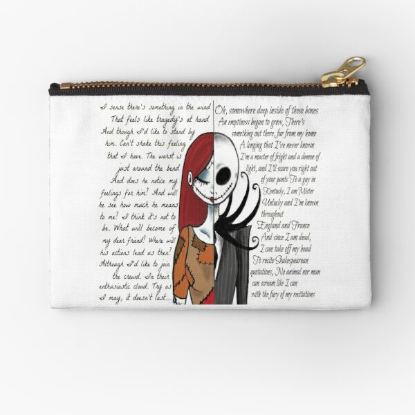 Nightmare Before Christmas Zipper Pouch